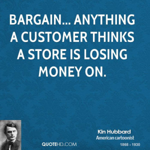Kin Hubbard Money Quotes