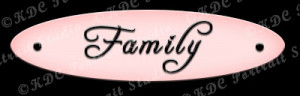 Cute Family Sayings Cute sayings (pink tags)