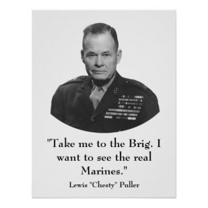 General Chesty Puller Quotes