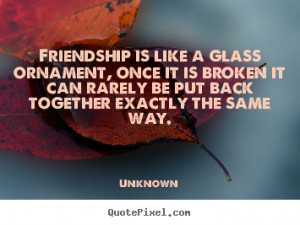 Broken Friendship Quotes Broken friends... quotes