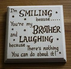 brother poems from sister | New Baby Brother Poem http://www.ebay.com ...