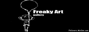 Freaky Art Gallery Cover Free Download For Facebook Timeline.