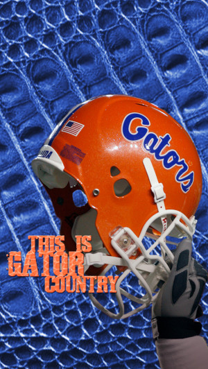 Florida Gator Helmet Desktop Wallpaper