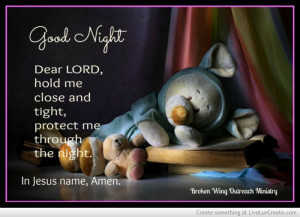 Good Night Prayer Quotes | Good Night Prayer Picture by Rhdoll ...