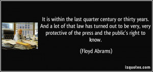 More Floyd Abrams Quotes