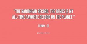 The Radiohead record, The Bends is my all-time favorite record on the ...