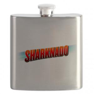Mockbuster Gifts > Mockbuster Kitchen & Entertaining > Sharknado Flask