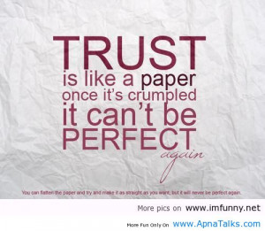 Trust quotes, trust quote, truth quotes, trust love quotes, trusting ...