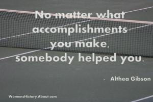 Athlete Quotes Success