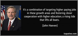 More John Hoeven Quotes