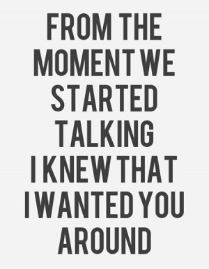 Tell me everything about you love quotes