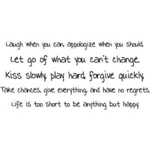 Life Quotes, Life Quote Graphics, Live Life Sayings - Polyvore