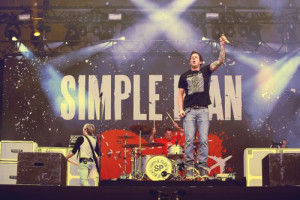 band, concert, music, simple plan