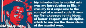 Girl Martial Arts Quotes Frank shamrock on martial arts