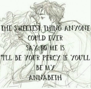 Percy Jackson And Annabeth Chase Quotes annabeth chase percy jackson