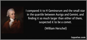 compared it to H Geminorum and the small star in the quartile ...