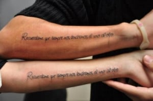Tattoo: Couple tattoo quote_6
