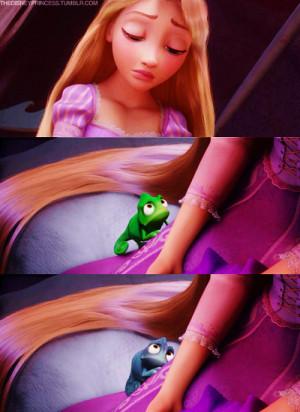 Disney Princess Sad Rapunzel