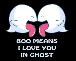 Boo Means I Love You by Reethax