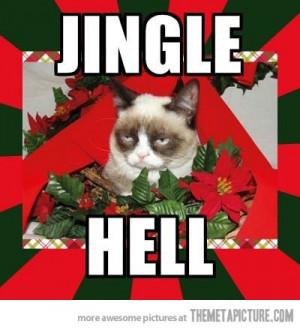 Grumpy Christmas Jingle Hell