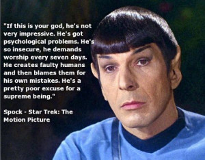 Spock, The God Thing