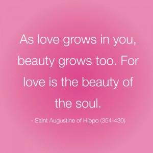 Saint Augustine Quote Love