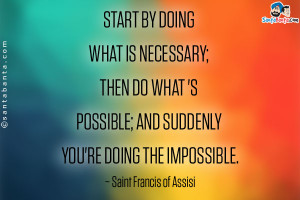 Saint Francis of Assisi Quotes