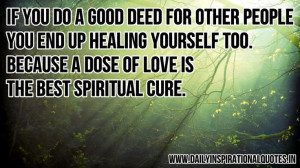 Good Deeds | Random/Quotes/Funny