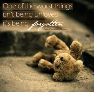 Sad Quotes about being forgotten images, pictures, wallpapers