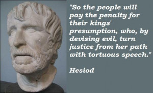 Hesiod quotes 5