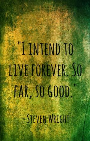steven wright quote
