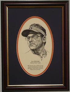 AUBURN-Tigers-football-Coach-Gus-Malzahn-framed-quote
