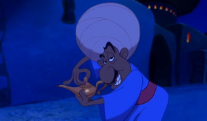 ... old lamp, but he's also talking about Aladdin! #DiamondInTheRough