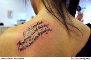 Some Original Tattoo Ideas For Girls and Women