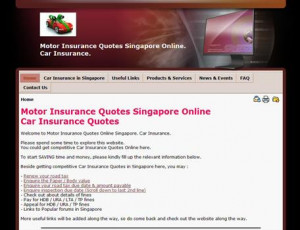 Car Insurance Quote Online Singapore. Motor Insurance Quotes Singapore
