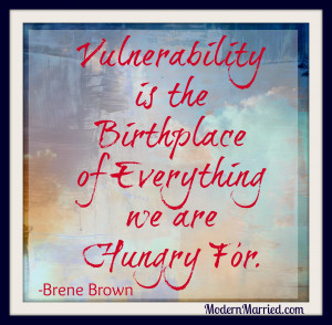 Vulnerability Definition – Brene Brown Quote