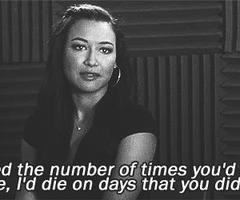 Tagged with santana lopez quotes
