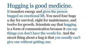 "Need a Hug"", Celebrate Love"