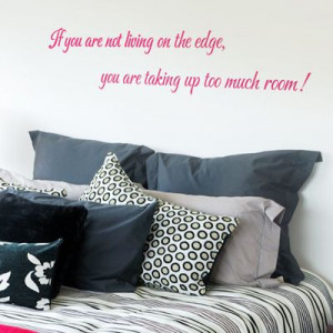 Home » Quotes » Live Life on the Edge! - Quote - Wall Decals