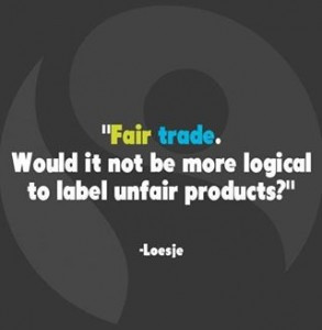 would like to share my inspirational fair trade quotes with you.