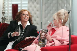 ... Jennifer Saunders) and Patsy (Joanna Lumley) Copyright: BBC 10 of 15