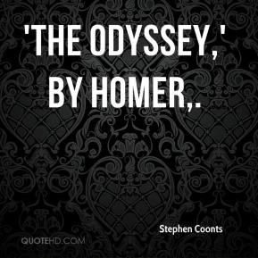 The Odyssey,' by Homer.