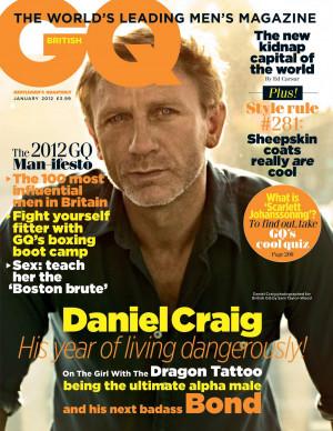 Coverin' It: Daniel Craig on British GQ