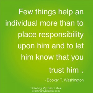 quotes about family responsibility