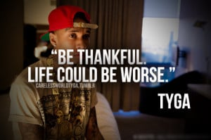 quote text tyga famous rapper