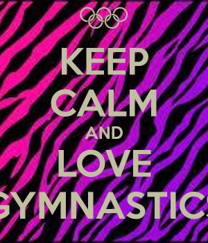 Love Gymnastics Posters