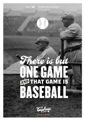 """This poster quotes the legendary John McGraw, who said """"There is but ..."""