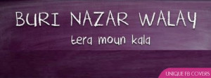 Buri Nazar Walay Funny Fb Cover Facebook Covers - Unique FB Covers ...