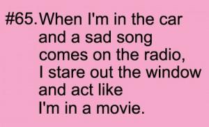 funny, movie, quotes, sad, sad song