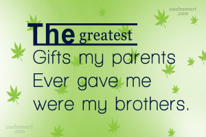 My Brother Quotes Sayings
